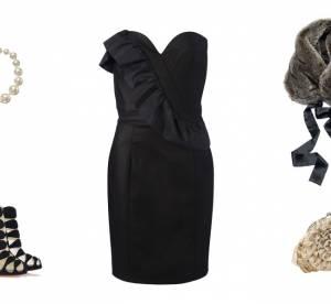 Comment porter la petite robe noire pour les fêtes