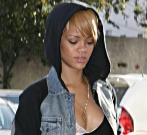 Rihanna sexy avec ses cuissardes