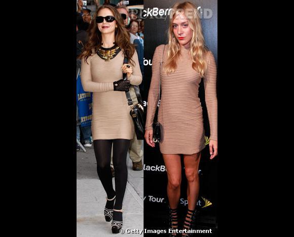 Entre Eliza Dushku et Chloë Sevigny, qui porte le mieux la robe Kimberly Ovitz ?