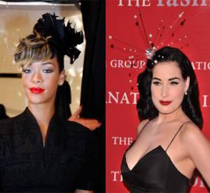 Dita Von Teese Vs. Rihanna : le bibi selon deux icônes de mode
