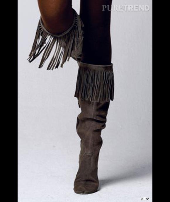 bottes d hiver indienne,Fourrure de mouton en cuir femmes