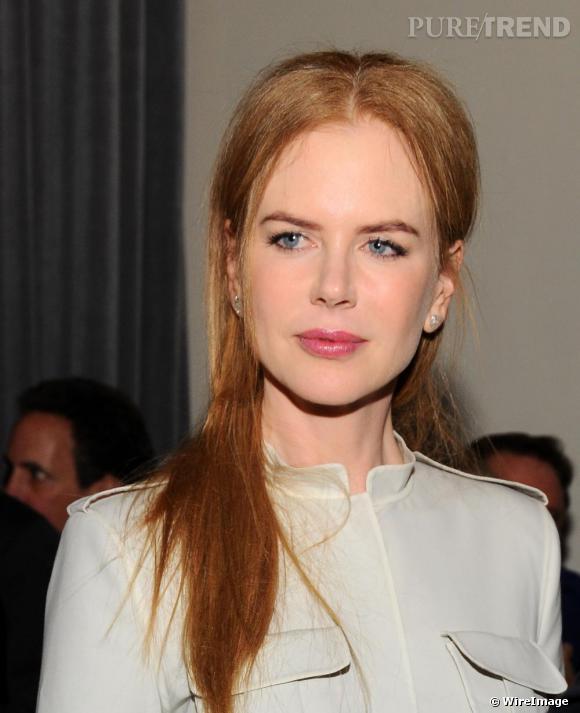 Nicole Kidman lors d'une conférence à San Francisco sur les violences familiales