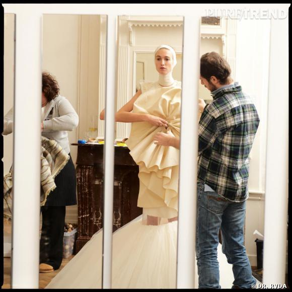 """Preview se la collection """" Duality """" de Jantaminiau , présentation le lundi 25 janvier de 11h00 à 14h30 à l'Espace Vertbois."""