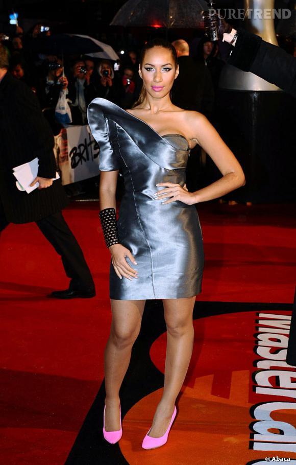 Leona Lewis aux Brit Awards à Londres