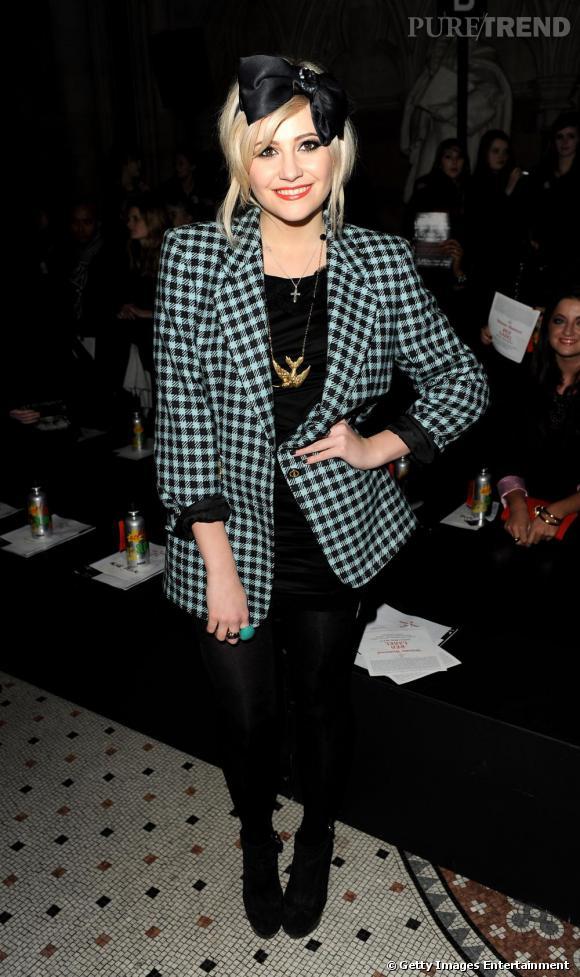 Pixie Lott, fidèle au style pop british