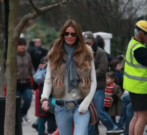 Elle Macpherson joue les ravissantes cowgirls... A shopper !