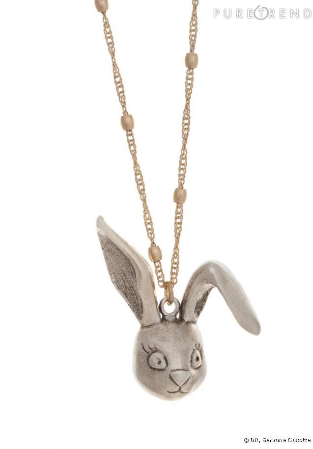 Le pendentif lapin d 39 alice aux pays des merveilles - Lapin alice aux pays des merveilles ...