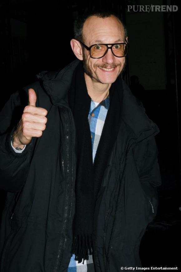 Terry Richardson au défilé Givenchy