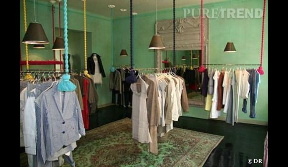 Boutique Swildens, rue de Turenne, Paris
