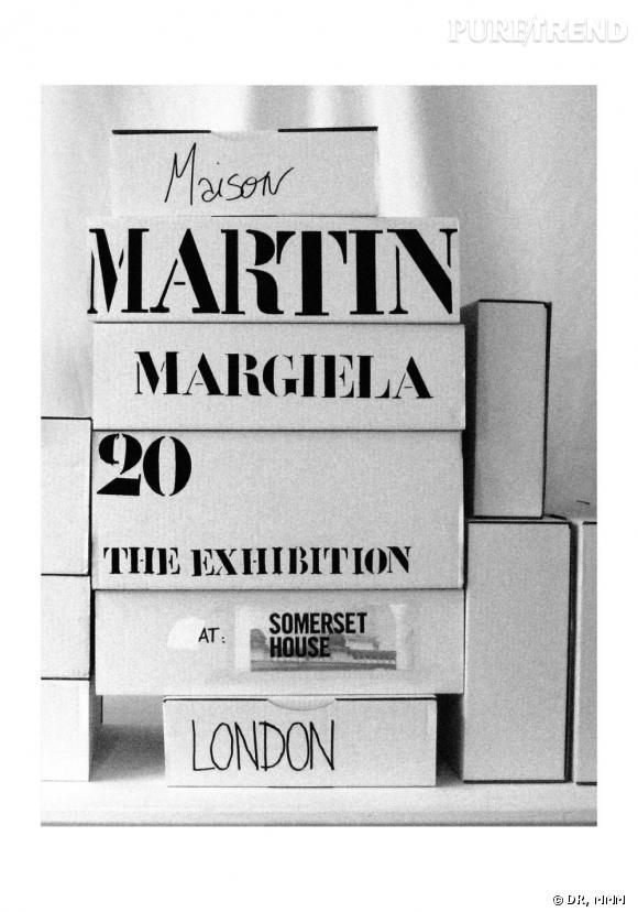L'exposition Martin Margiela à la Somerset House
