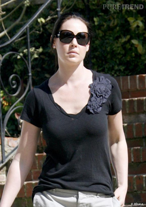 Katherine Heigl dans les rues de Los Feliz