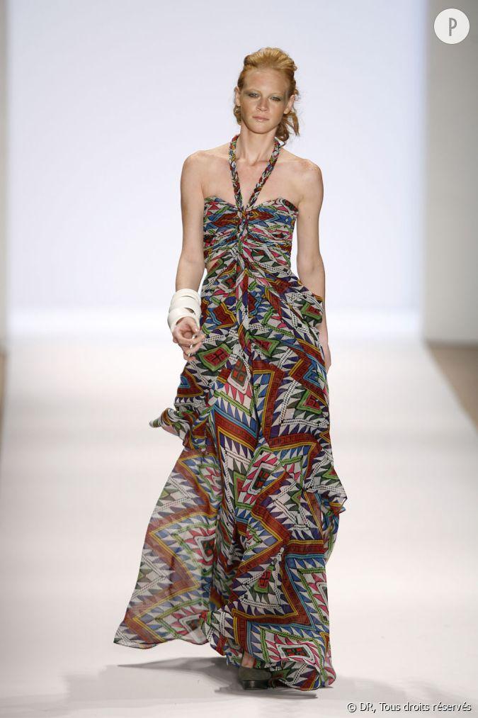 d fil mara hoffman printemps et 2010 une robe fluide