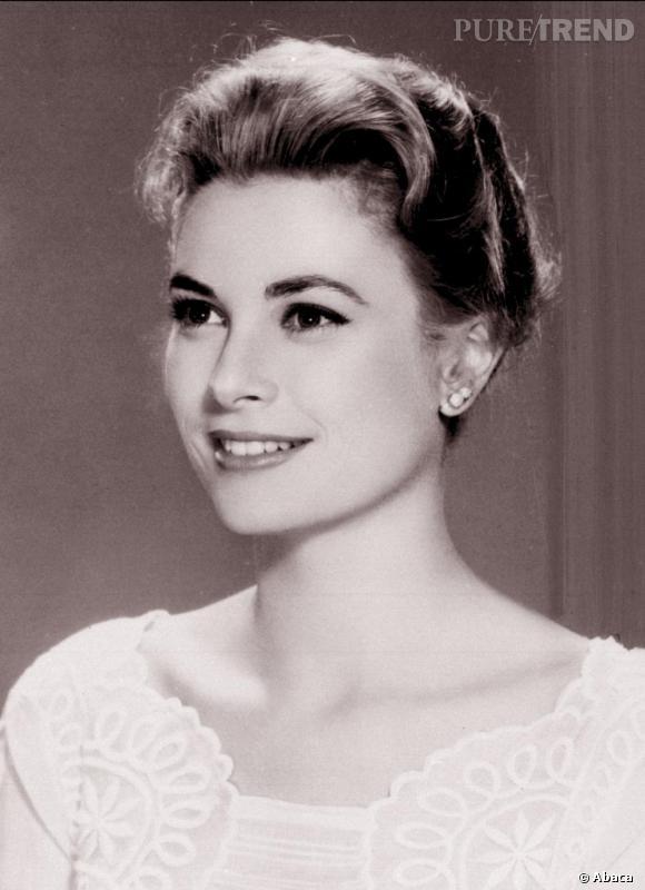 La sublime Grace Kelly, incarnation de la classe, et son chignon bas