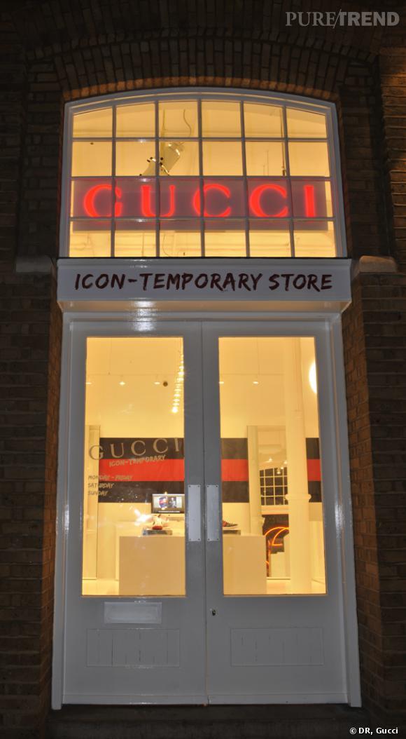 Boutique éphémère Gucci à Londres - Puretrend 28c50cbe10f