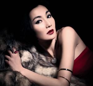 Les bracelets de Maggie Cheung chez Qeelin
