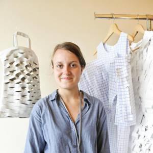 FHMP 2010 : Alexandra Verschueren, showroom  dans la Villa Noailles