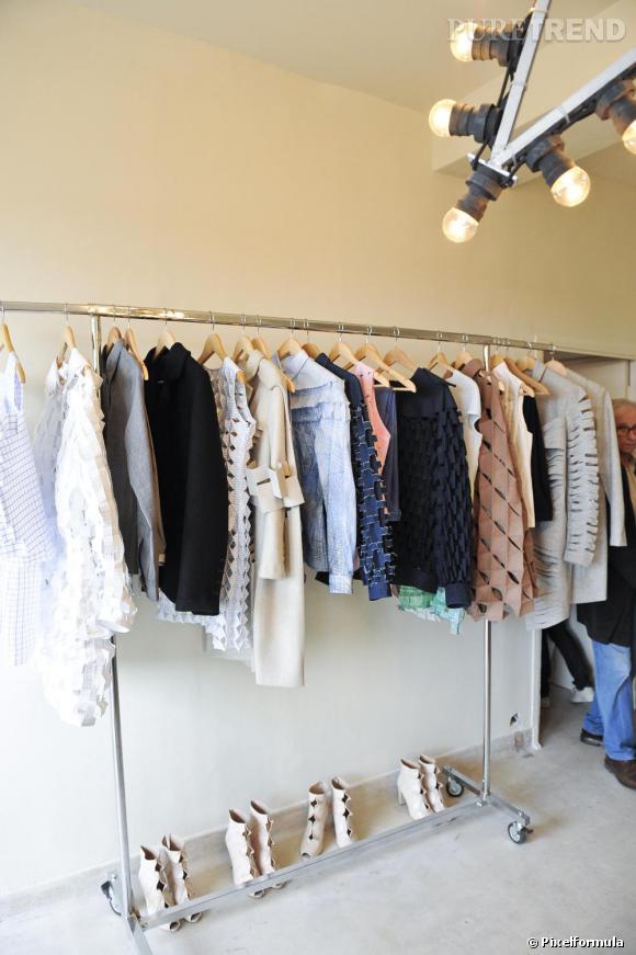 FHMP 2010 : collection Alexandra Verschueren, showroom  dans la Villa Noailles