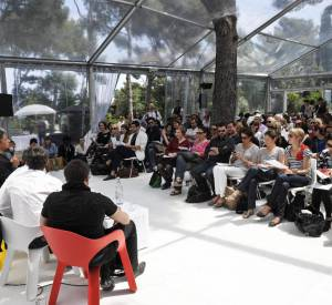 FHMP 2010 : la tente des conférences