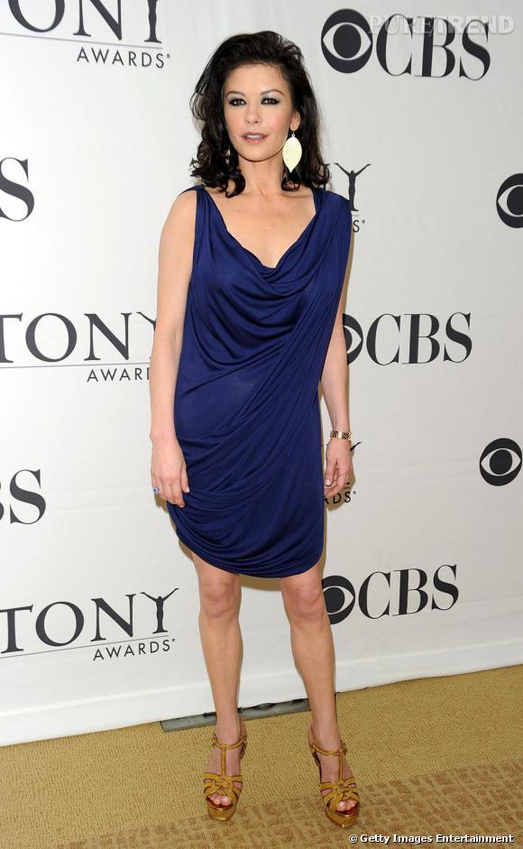 Catherine Zeta Jones de la réception en l'honneur des nommés aux Tony Awards