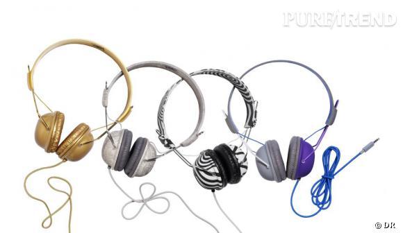 Un casque de musique       Une festivalière, une vraie, prévoit aussi d'apporter son iPod et son casque au cas où la programmation sur scène ne lui plaît plus.    Prix :  29.95€