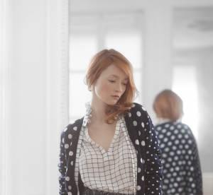 Audrey Marnay pour Claudie Pierlot, égérie et styliste