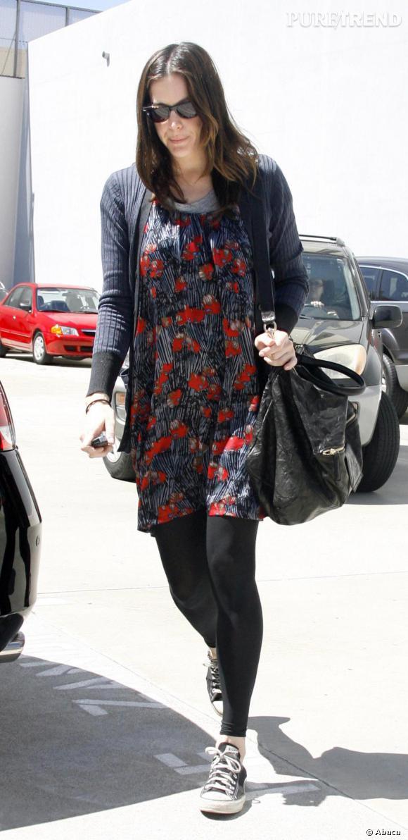 Liv Tyler : son style pas vraiment en forme à Los Angeles.
