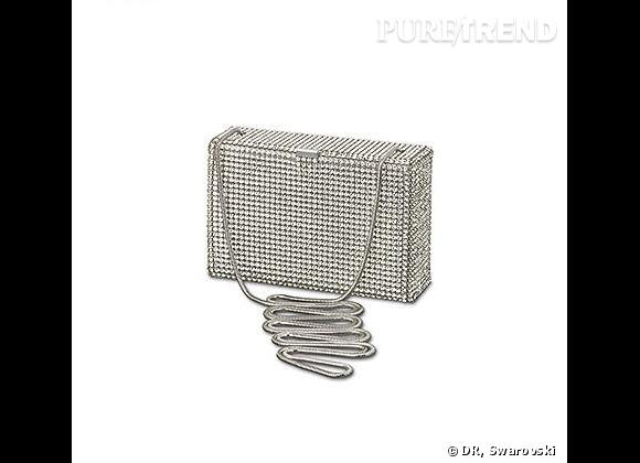 La minaudière de Carrie: Sac du Soir Kiosque   Prix: 600€   Sur:  swarovski.com