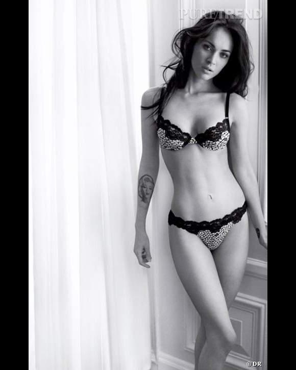 Megan Fox pour la collection Automne-Hiver 2010-2011 Armani Underwear