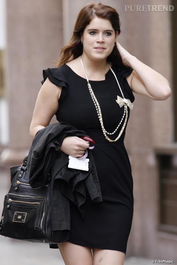 La Princesse Eugenie, une jolie princesse en Petite robe noire.