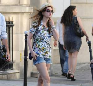 Leighton Meester, très estivale... A shopper !