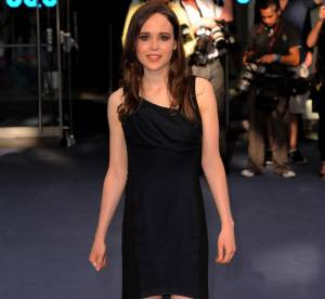 Ellen Page tente d'être glamour