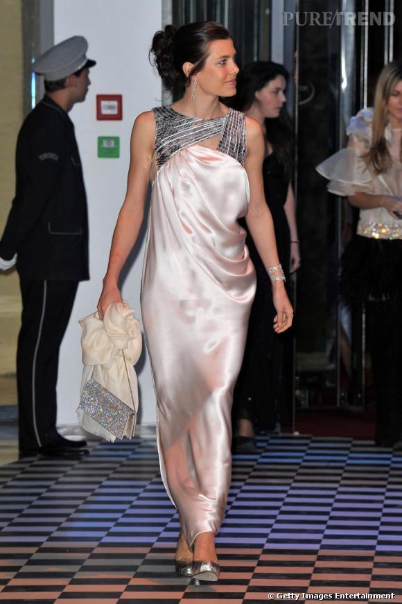 Charlotte Casiraghi, l'atout glamour du rocher monégasque.
