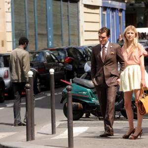 Ed Westwick et Clémence Poésy, le nouveau couple de la série.
