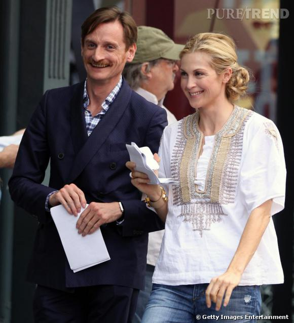 Hamish Bowles et Kelly Rutherford
