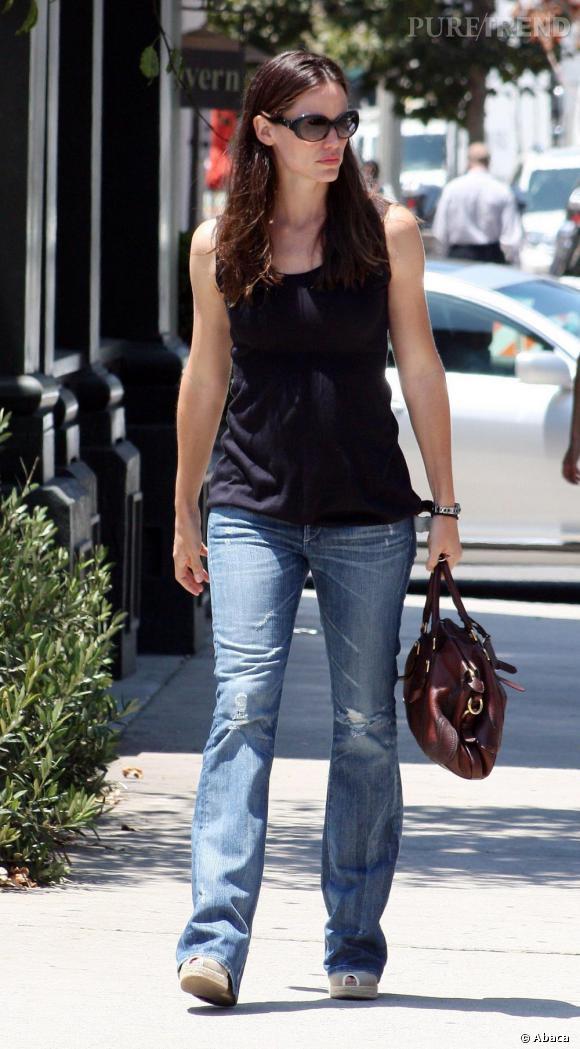 Jennifer Garner dans les rues de Los Angeles.