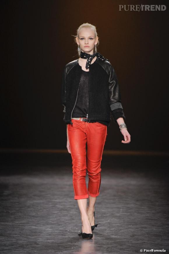 Défilé Isabel Marant Automne-Hiver 2010-2011.