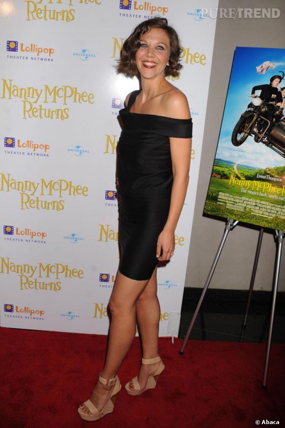 Maggie Gyllenhaal à la première de Nanny McPhee Returns.