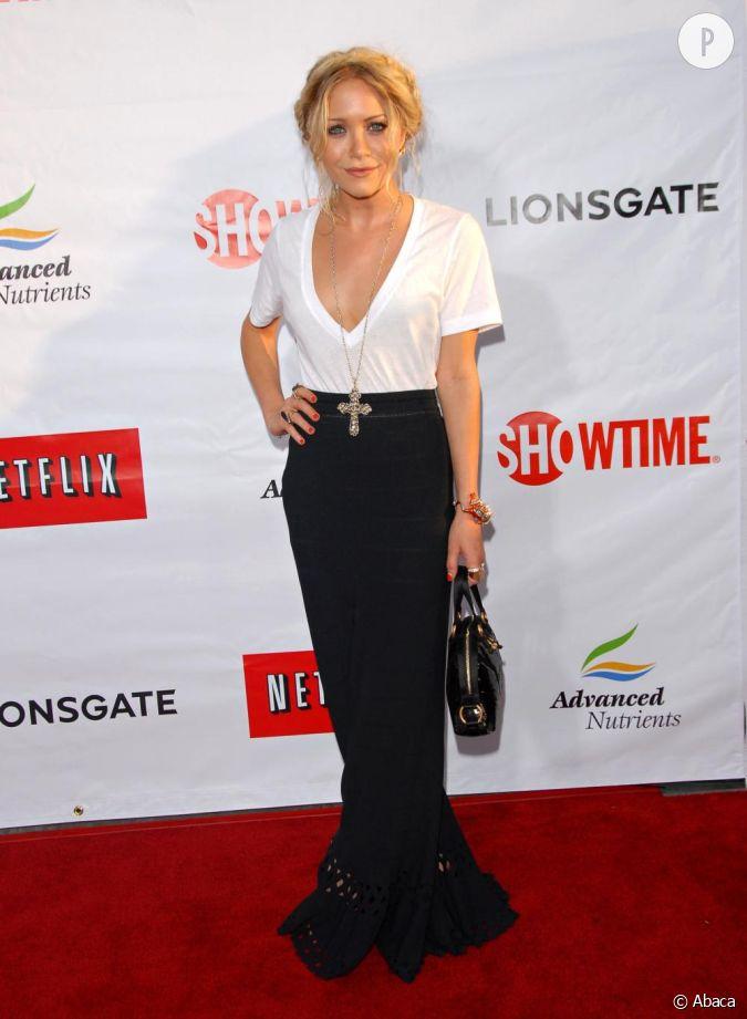 Sur le red carpet, Mary Kate Olsen arbore un décolleté ...