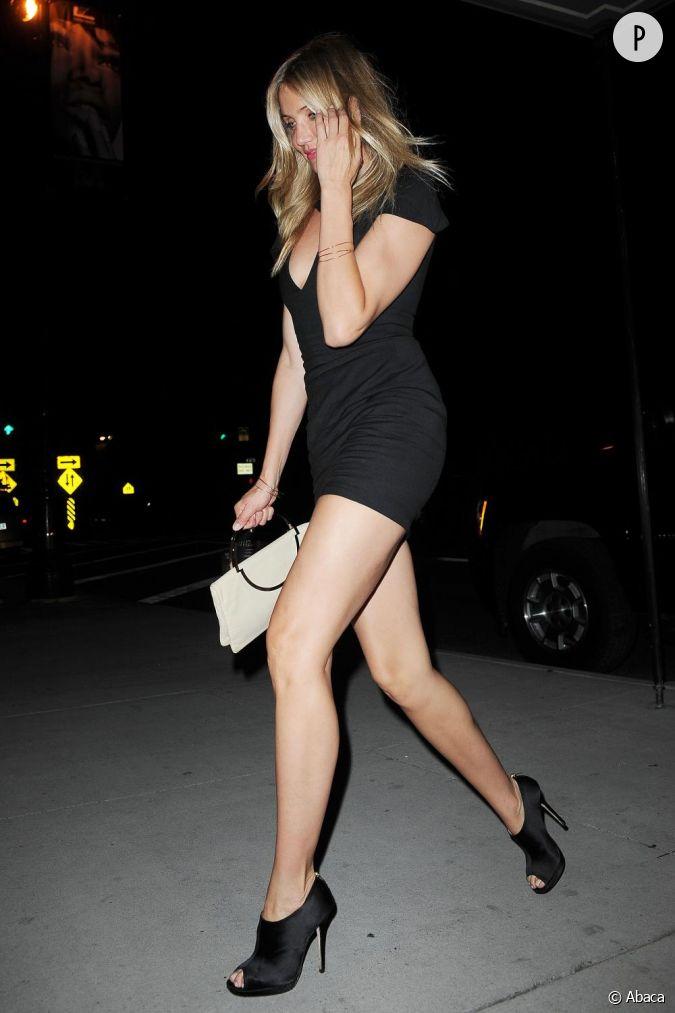 Cameron diaz new york mise sur une petite robe noire for Cameron diaz new york