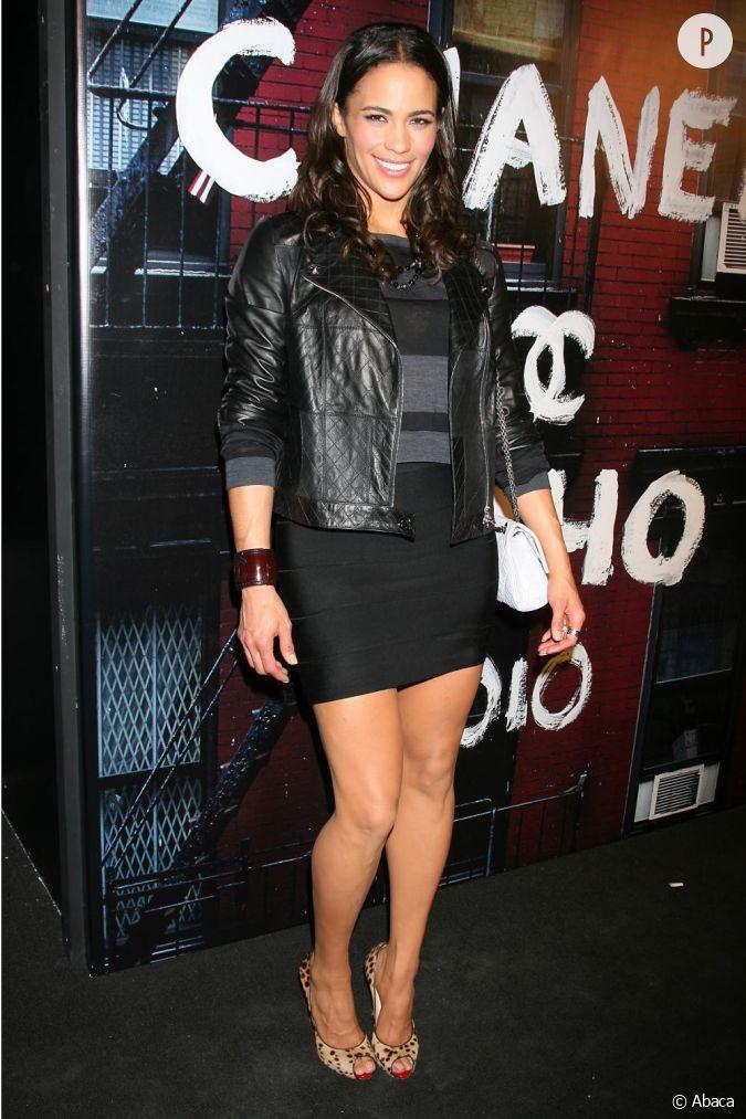 Paula Patton à la réouverture de la boutique Chanel de ...