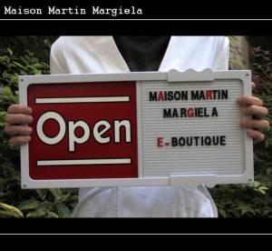 Maison Martin Margiela inaugure sa boutique en ligne