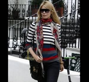 Claudia Schiffer, matelot trendy... A shopper !
