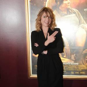 Emilie Dequenne à la première de La Meute à Paris.