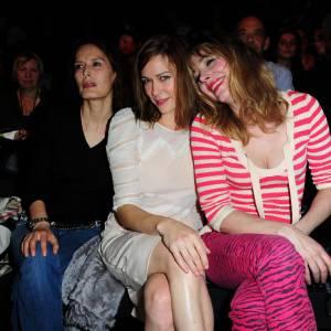 Bambou, Marie-Josée Croze et Julie Depardieu également chez Rykiel.
