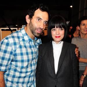 Riccardo Tisci et Lily Allen chez Givenchy.