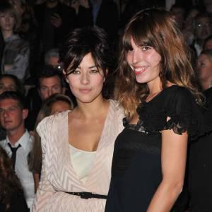 Mylène Jampanoï et Lou Doillon chez Christian Dior.