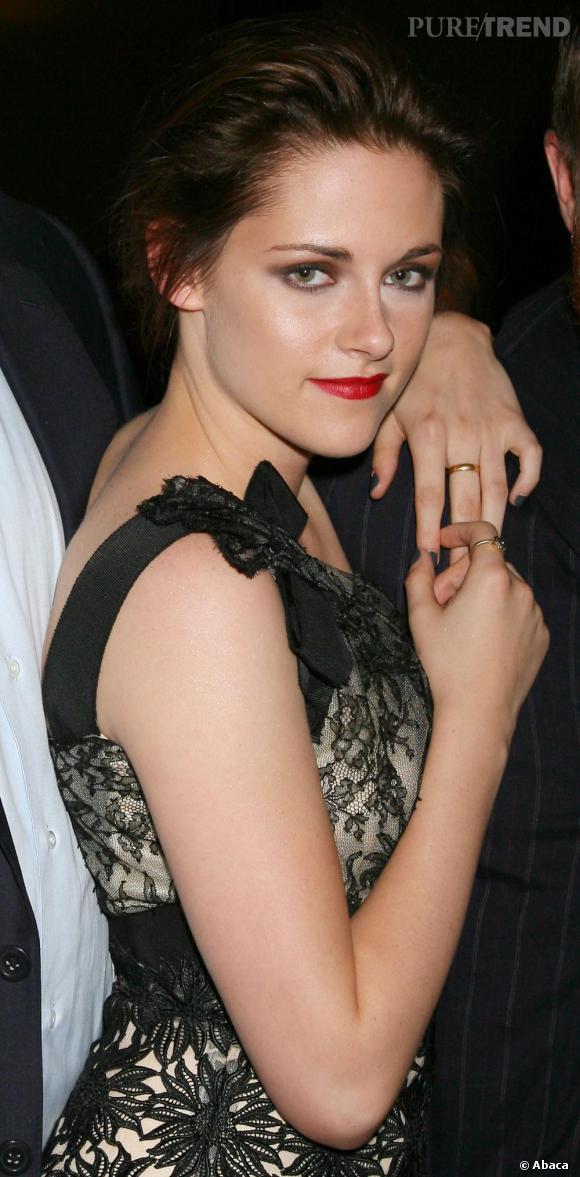 Kristen Stewart à la projection de Welcome to the Rileys à New York.