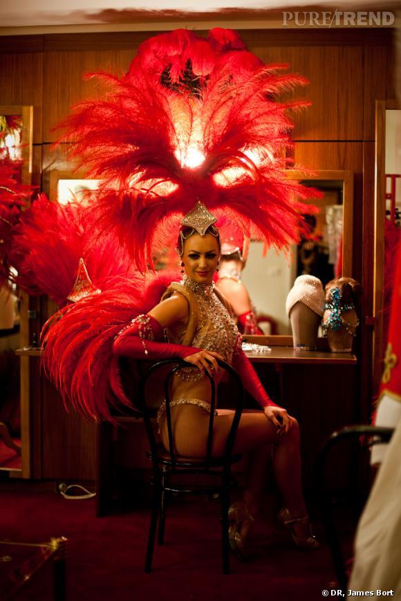 Leçon de Make-up dans les Backstage du Moulin Rouge
