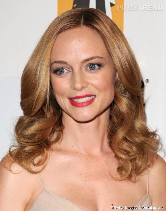 Heather Graham, la jolie blonde que l'on retrouvera dans Very Bad Trip 2 présente au Hollywood Awards.
