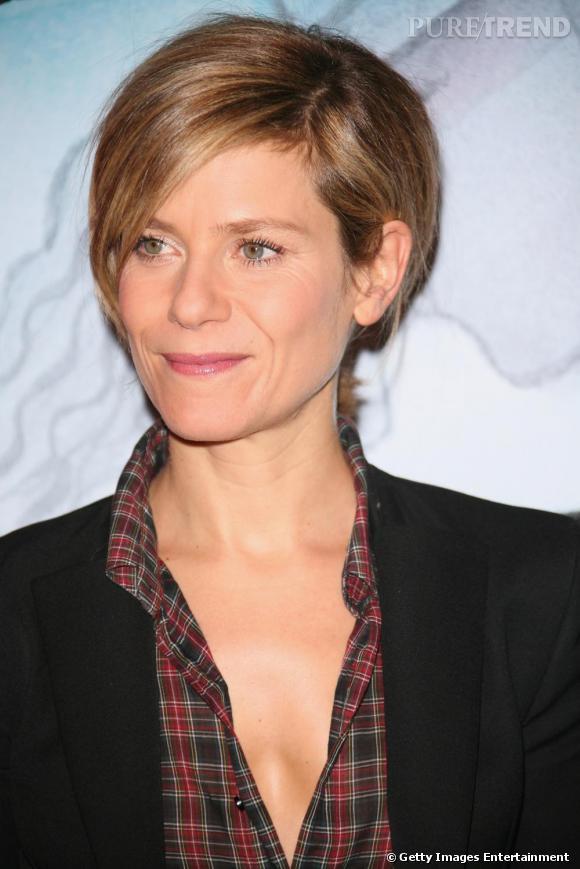 """Marina Foïs au Forum des Images pour la 6ème edition de """"Mon Premier Festival""""."""
